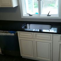 LSC Marble & Granite Black Granite Counter Top