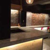 Granite Bar Construction