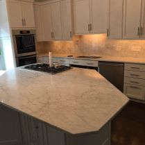 LSC Marble & Granite Remodel With Island