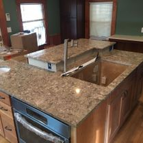 Pretty Brown Granite