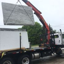 Granite Being Transported