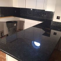 Black Quartz Counter Top