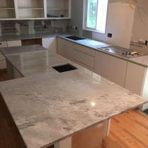Marble Installation in Kitchen