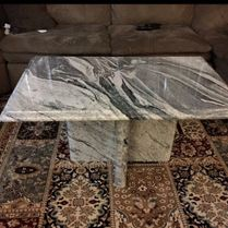 Marble Table In Living Room